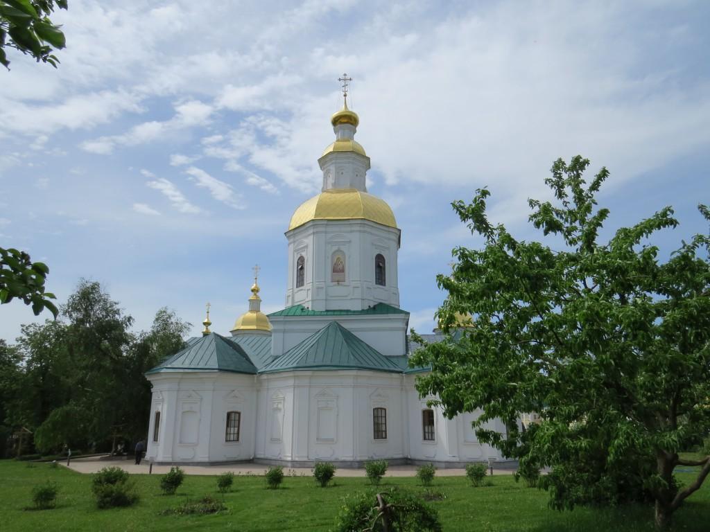 Казанский собор в Свято-Троицком Серафимо-Дивеевском монастыре (Дивеево)