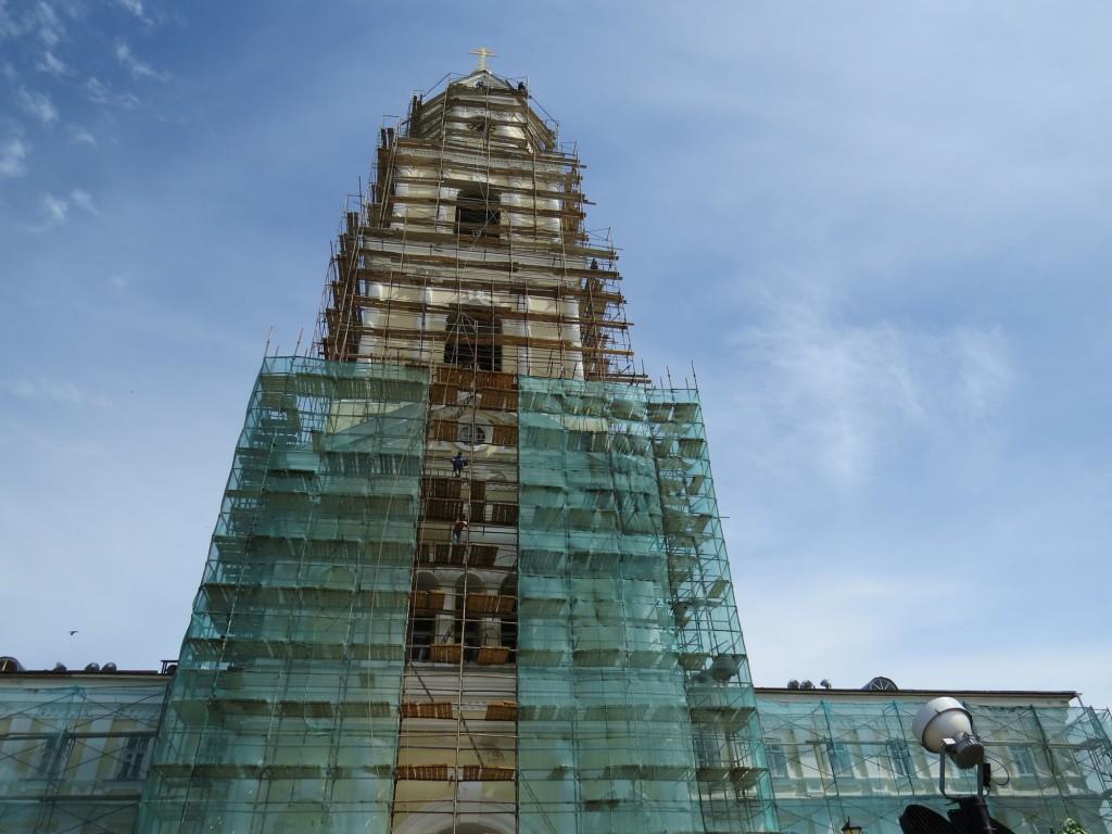 Монастырская колокольня в Свято-Троицком Серафимо-Дивеевском монастыре (Дивеево)