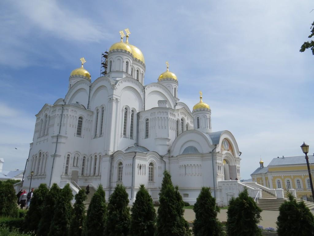 Спасо - Преображенский собор в Свято-Троицком Серафимо-Дивеевском монастыре (Дивеево)