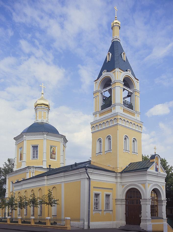 Храм Илии Пророка Обыденного, Москва, Обыденский переулок