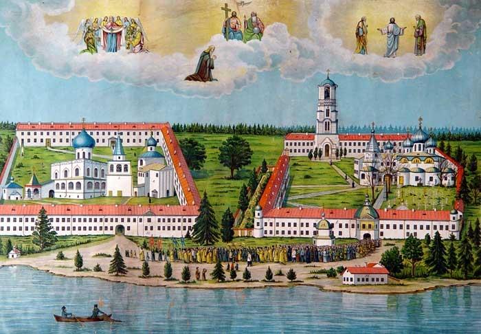 Монастырь, основанный святым преподобным Александром Свирским